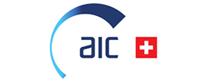 AIC Systems, In der Schweiz hergestellte Durchflussmesser als Direktmessung  Logo